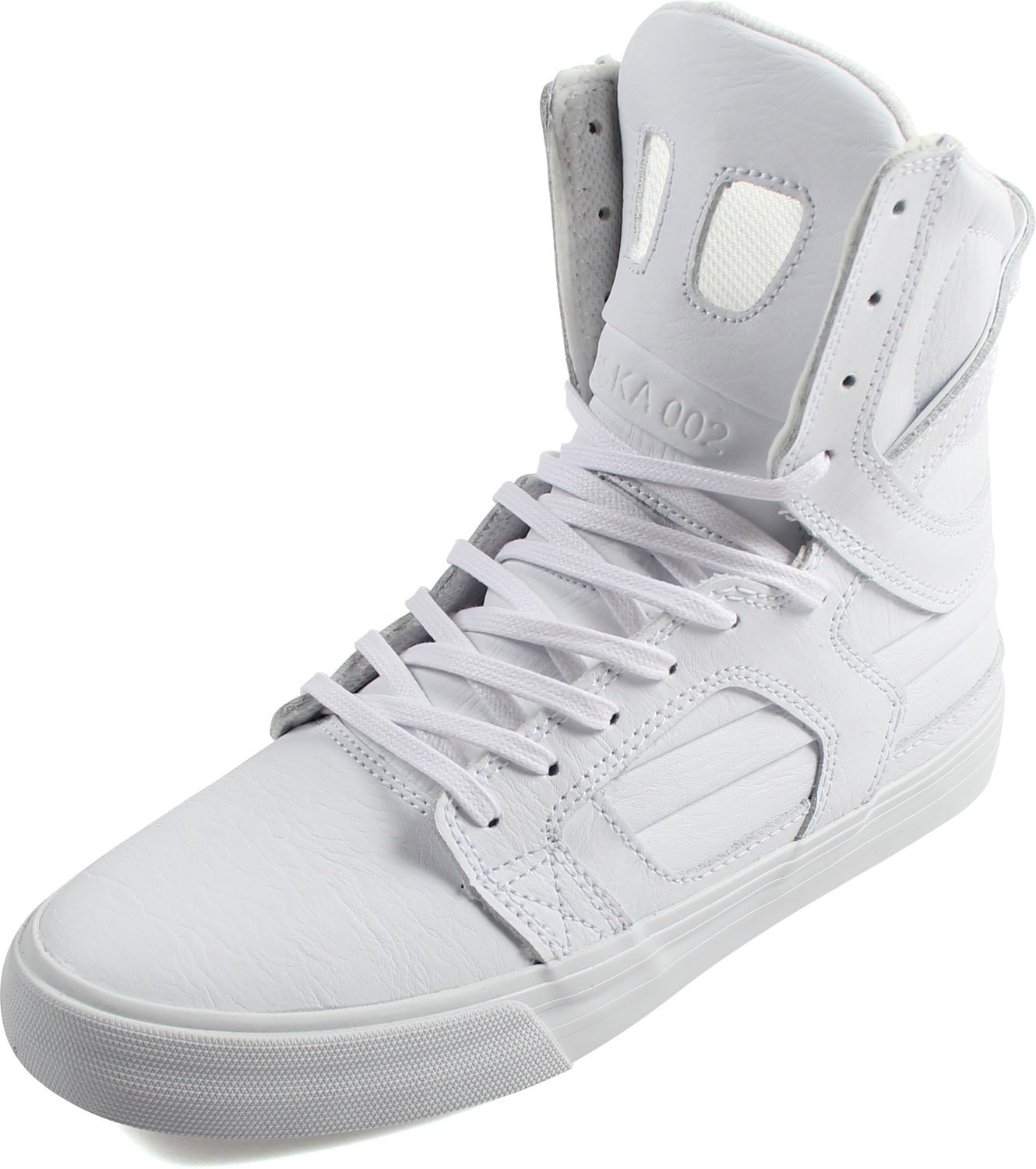 Supra Womens Skytop II Shoes, Size: 10 B(M) US, Color White/White/Red