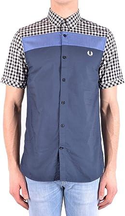 Fred Perry Luxury Fashion Hombre MCBI32407 Multicolor Camisa | Temporada Outlet: Amazon.es: Ropa y accesorios