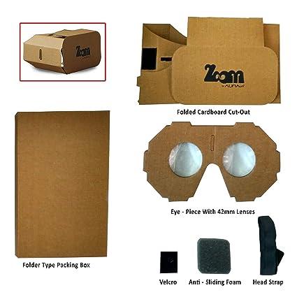 Auravr Zoom Virtual Reality Headset Box Do It Yourself