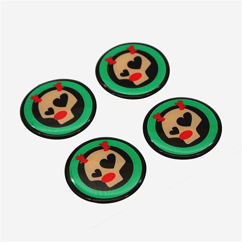 LVBAO 4/x 56/mm Wheel Rim centro copertura Cap badge Copricerchio Trim sticker per mini Cooper R Series R60/R55/R56/R57/R58/R59/Clubman Countryman Hardtop Hatchback