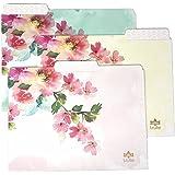Trulie Lovely Morning Letter Sized File Folders 6-Pack - 3 Styles