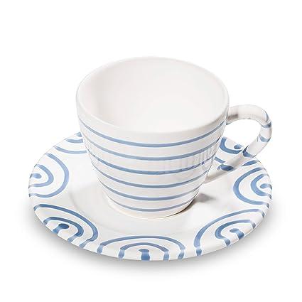 Gmundner Keramik Kaffeetasse Mit Unterteller Set 2 Teilig