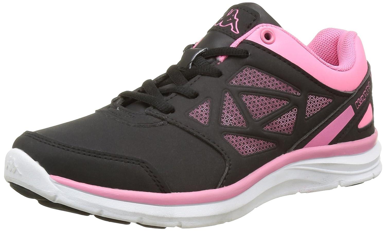 Kappa Fanger PU, Zapatillas de Deporte Exterior para Niñas Negro (952 Black/Warm Pink) 36 EU 303PT10