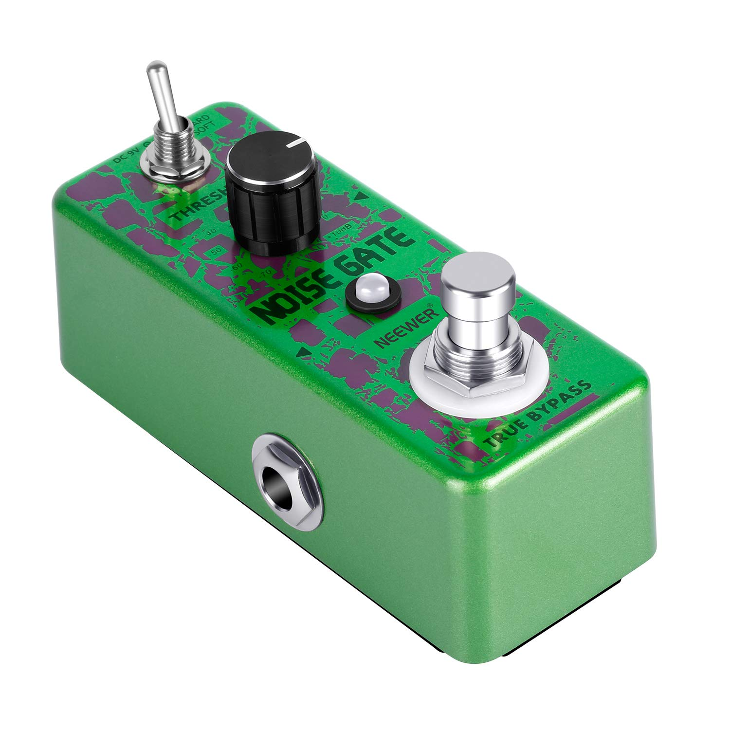Neewer Noise Killer Guitar Noise Gate Suppressor Effect Pedal with 2 Working Models for Guitar Playing and Guitar Performance in Live Show or Recording Studio by Neewer