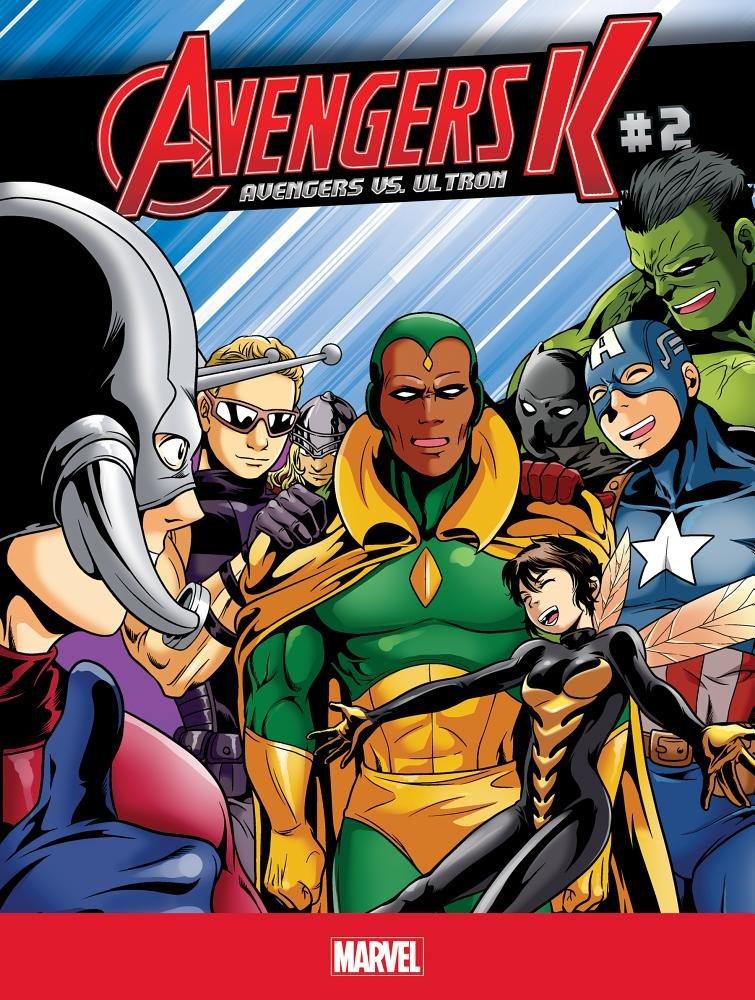 Avengers K Avengers Vs. Ultron 2 PDF ePub fb2 ebook