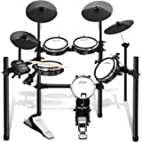 Donner DED-200 Electric Drum Set Kit Electronic with 5 Drums 4 Cymble, Electric Drum, Audio Line, Drum Stick