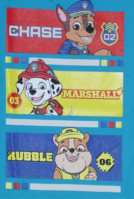 Paw Patrol Maglietta in Cotone Manica Lunga per Bambini