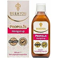 Bee&You Propolis Honigsirup (für Kinder, Natürliche & kontrollierte Zutaten, Fairer handel, Keine Zusatzstoffe)