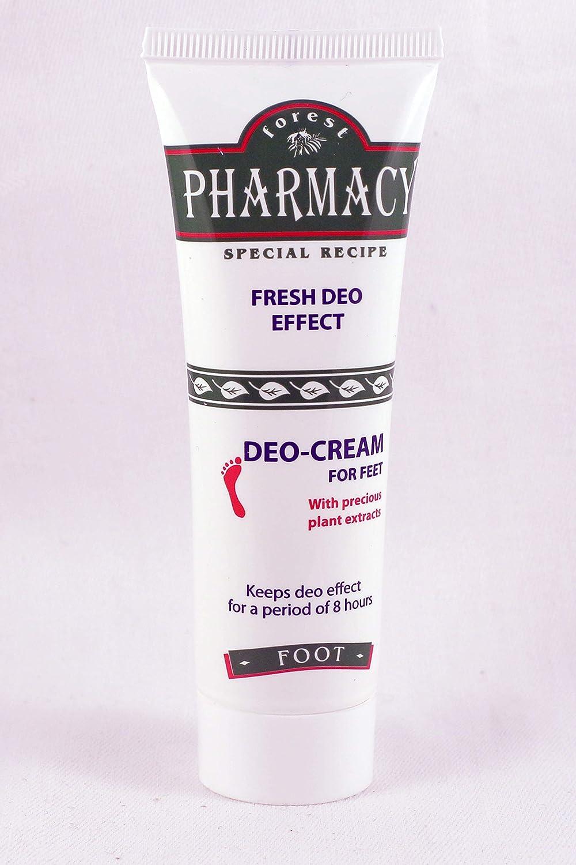 Forest Pharmacy - Crema Desodorante para los Pies Rosa impex