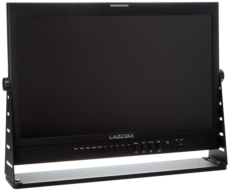 Laizeske LZEDR215DSW IPS フルHD1920x1080 ブロードキャストモニター 3G-SDI HDMI 波形ベクトル スコープ Histog Peaking フォーカスプロダクション 21.5インチ ブラック   B07BYFRMV9