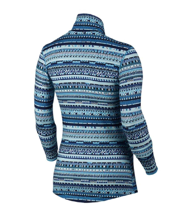 Amazon.com: Nike Pro Warm 8-Bit Half Zip Women's Pullover Blue Lagoon/Black  XS: Sports & Outdoors