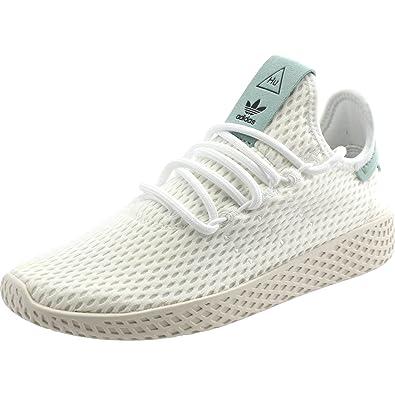 adidas Originals Pharrell Williams Tennis Hu White/Green Textile 36 EU