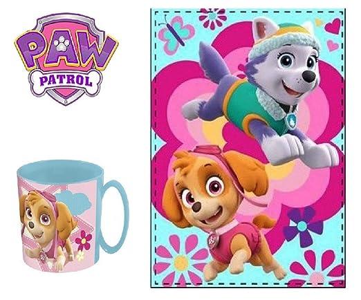 Patrulla canina Skye Stella Manta Polar - Taza Skye Stella ...
