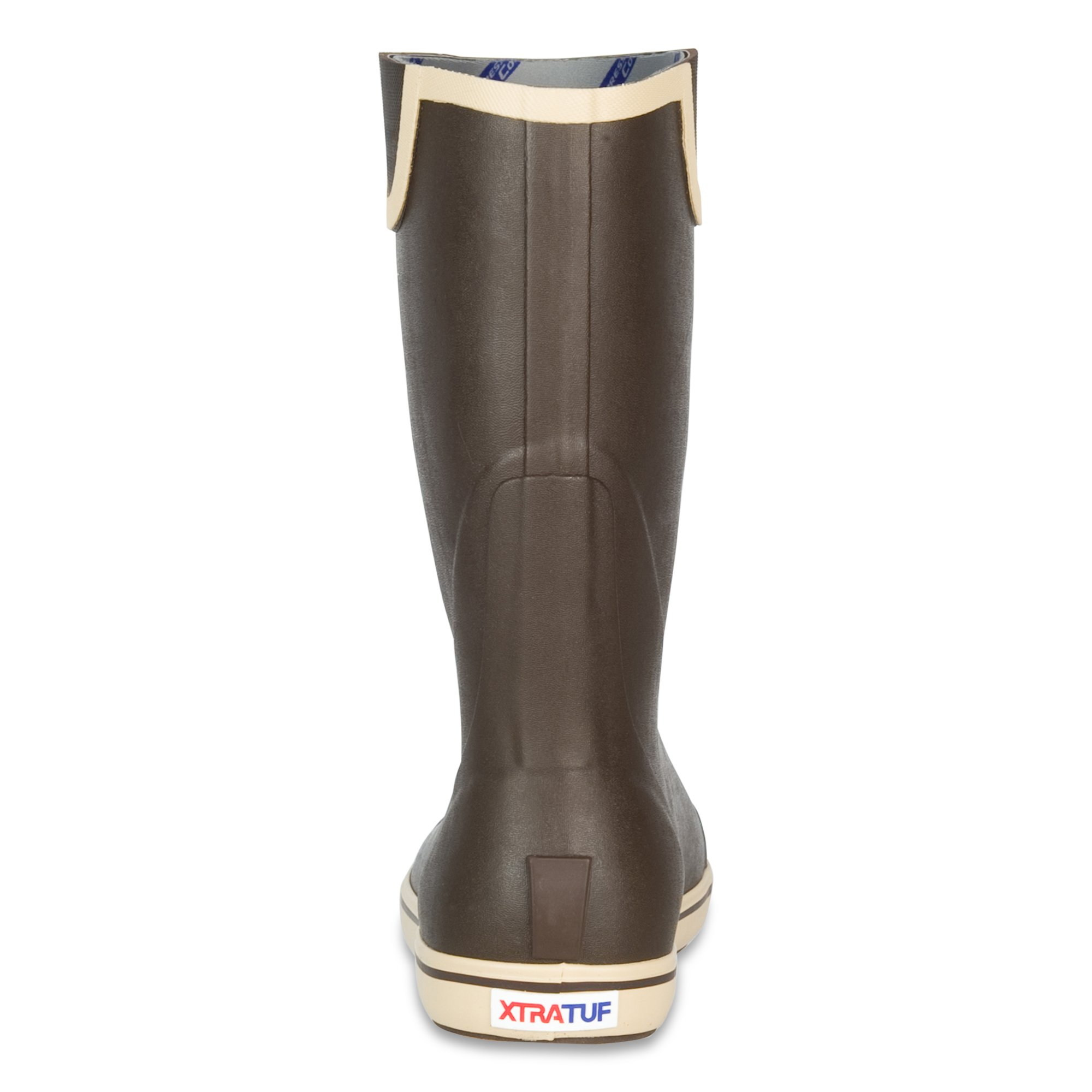 XTRATUF Performance Series 12'' Men's Full Rubber Deck Boots, Chocolate & Tan (22702) by Xtratuf (Image #3)
