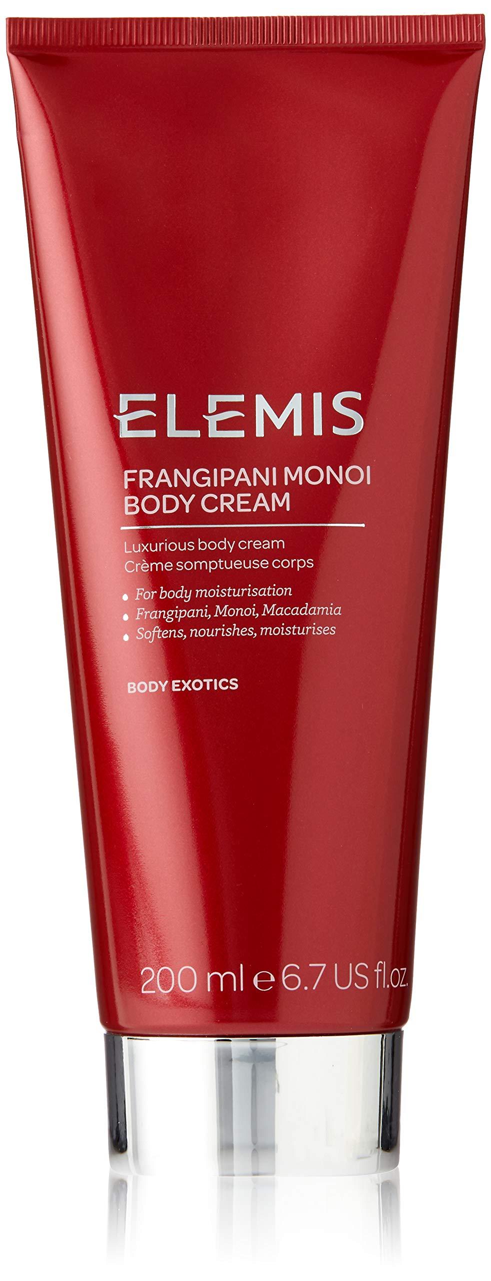 ELEMIS Frangipani Monoi Body Cream, Luxurious Body Cream, 6.7 Fl Oz