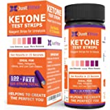Ketone Keto Urine Test Strips. Look & Feel Fabulous on a Low Carb Ketogenic or HCG Diet. Get Your Body Back! Accurately…