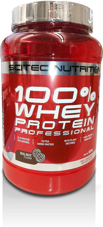 SciTec 100% De Proteína De Suero Profesional, Walnut - 920G ...