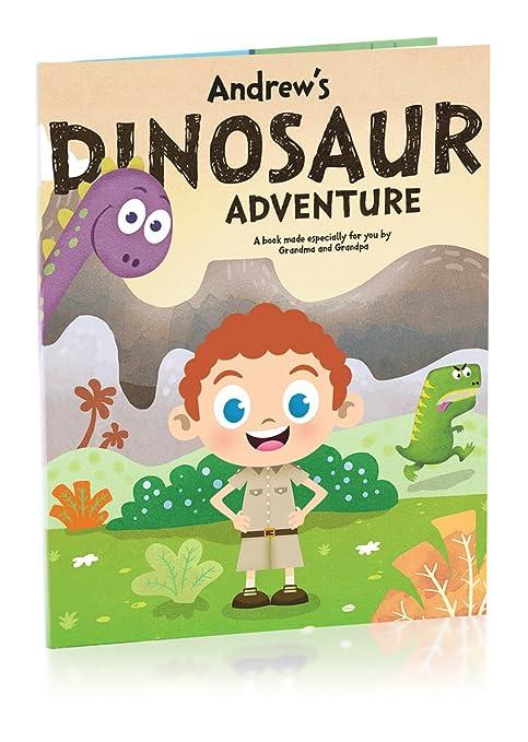 Hallmark Personalized Books Dinosaur Adventure Boy
