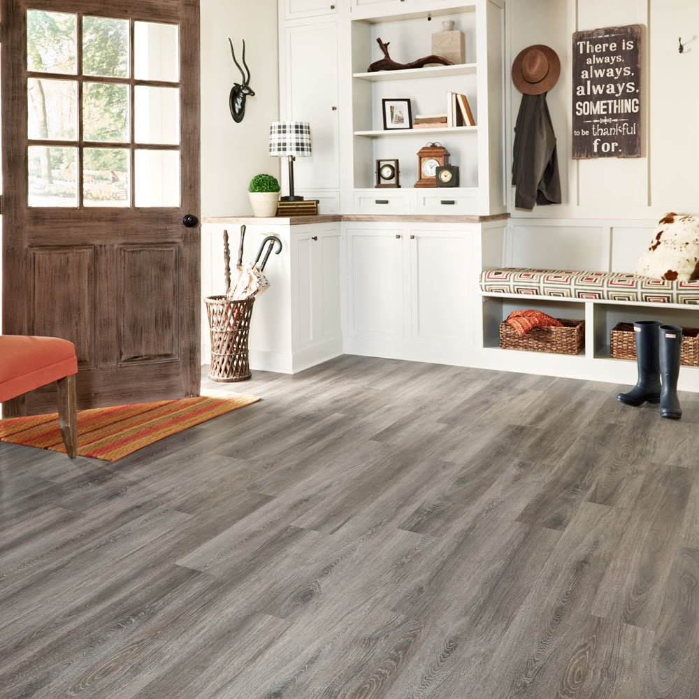 Mannington Hardware ALP661 Adura Glue Down Distinctive Collection Luxury Margate Oak Vinyl Plank Flooring, Waterfront by Mannington (Image #2)