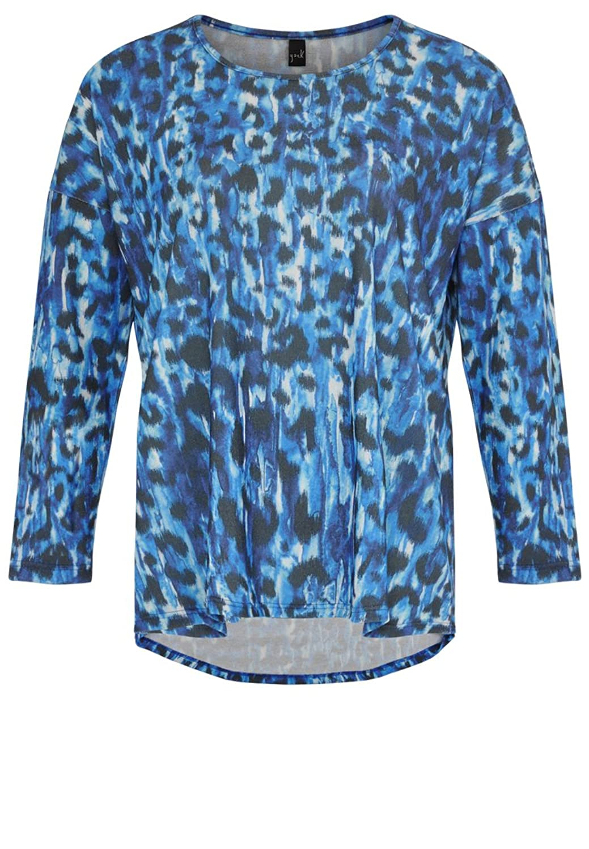Yoek Damen Pullover mit Tierdruck Plus Size