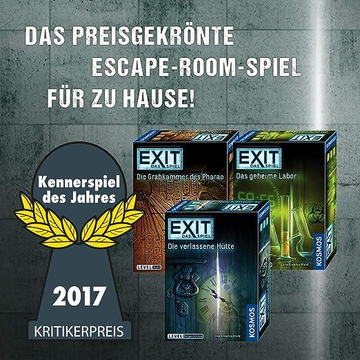 Kosmos 694036 Exit Das Spiel Die Unheimliche Villa Level