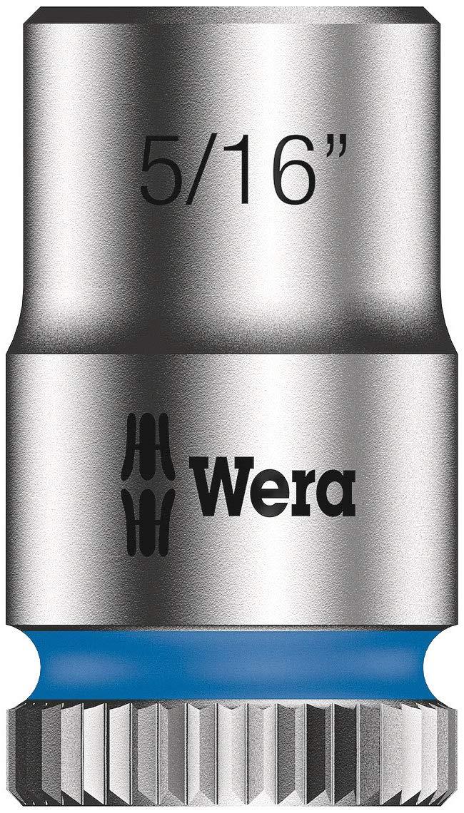 Wera 05004019001 Zyklop Speed-Ensemble de cliquets 8100 SA 9-pcs 1//4 Zoll z/öllig 28-tlg. Argent