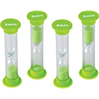 Deals on 4-CT Teacher Created Resources 5 Minute Sand Timer 20662