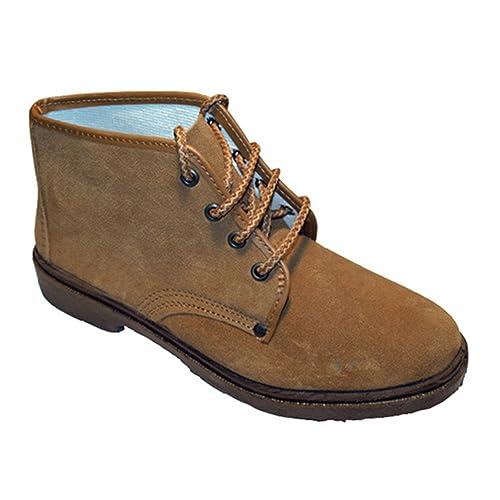 Zapato trabajo cordones serraje Vulsega en camel talla 43 sYemzRqNRg