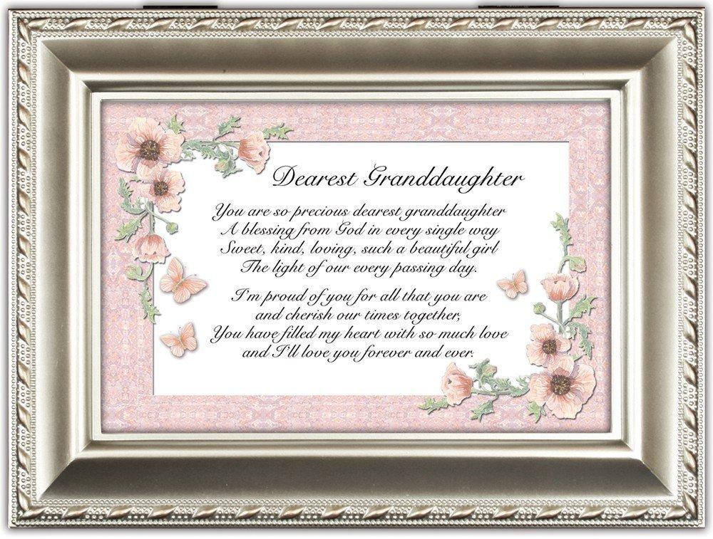 特別価格 Dearest Up Granddaughter Champagne Plays Light Silver Cottage Garden Traditional Music Box Plays Light Up My Life B0090R5FRC, 100%の保証:9c2cd6a0 --- arcego.dominiotemporario.com
