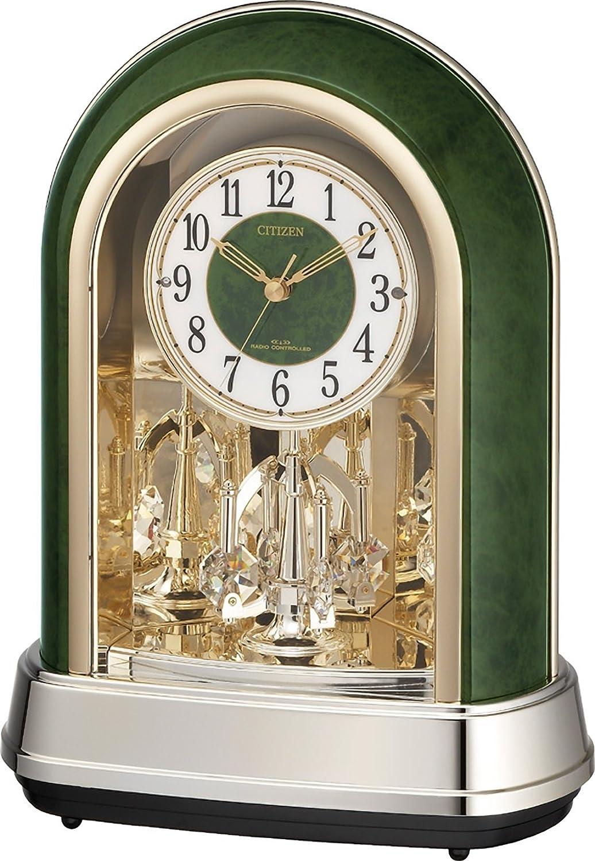 CITIZEN ( シチズン ) 置時計 パルドリームR427 電波 時計 12曲毎正時メロディ 4RN427-005 B003R50D66