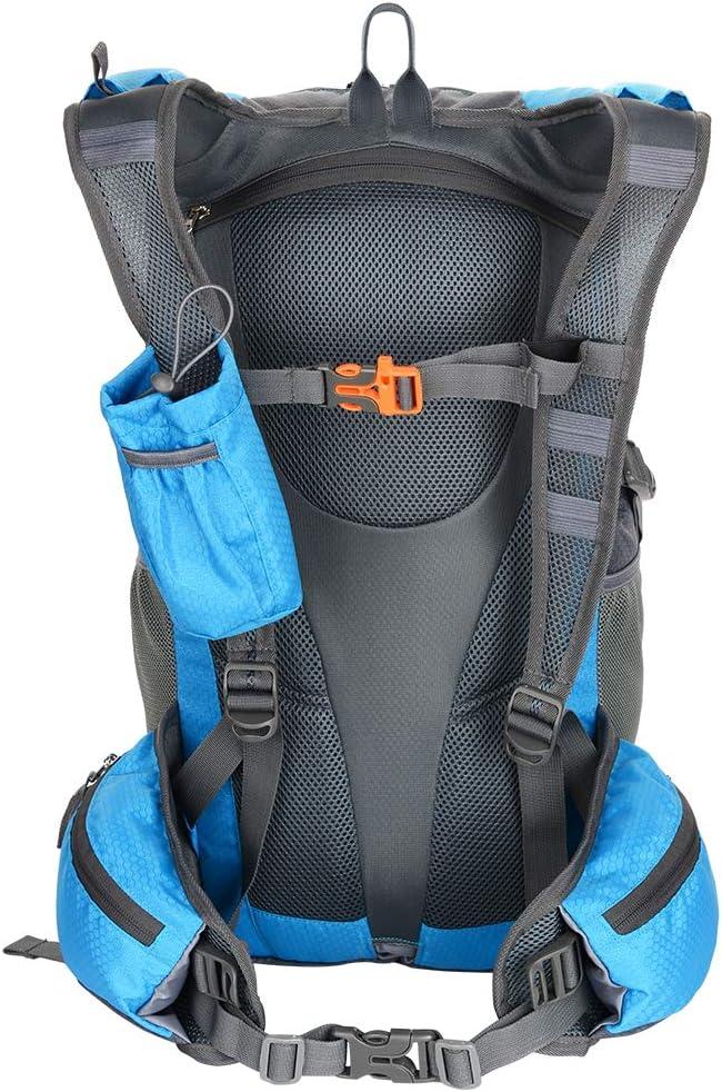 30L Zaino per Bici Impermeabile Sport allAria Aperta Zainetto Equitazione Leggera e Traspirante Escursionismo Borsa da Viaggio Zaino per Pesca Sportiva Escursionismo Alpinismo Arrampicata Uomo Donna