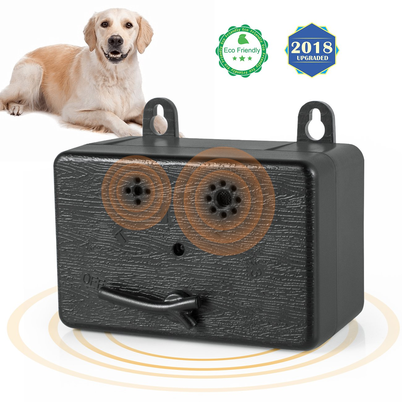 ShamBo Anti Barking Device, Mini Bark Control Device Outdoor Anti Barking Ultrasonic Dog Bark Control Sonic Bark Deterrents Silencer Stop Barking Bark Stop Repeller, Dog bark Control (2018 New)