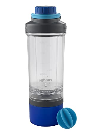 Amazoncom Contigo Shake Go Fit Mixer Bottle with Storage