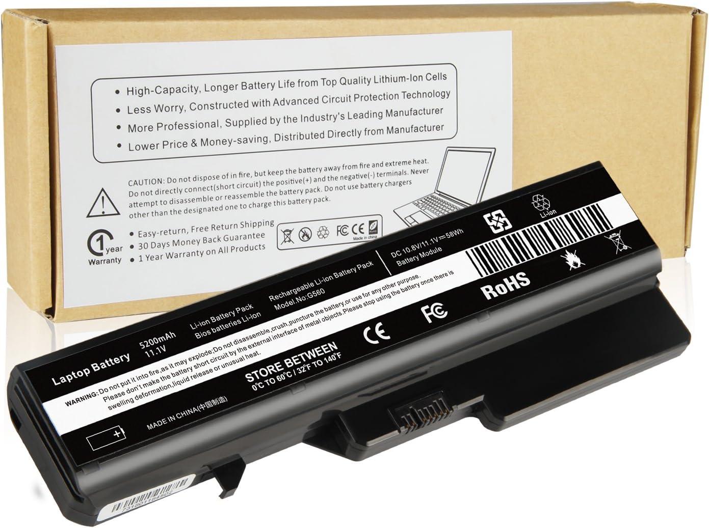 Futurebatt Notebook Battery for Lenovo B470 B570 G460 G460A G460L G465 G470 G475 G560 G565 G570 G575 IdeaPad V360 V370 V470 V570 Z370 Z460 Z465 Z470 Z475 Z560 Z565 Z570 Z575 L08S6Y21 L09M6Y02 L09L6Y02