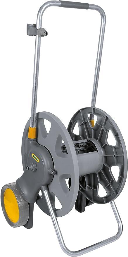 Hozelock - Carro portamanguera para 90 m de manguera de 12, 5 mm - incluye 2 conectores para manguera de 15 mm: Amazon.es: Jardín
