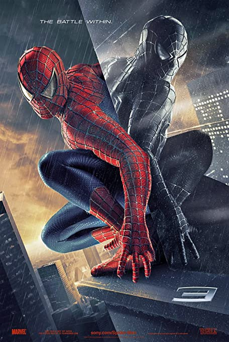 Spiderman 3 Movie Poster 2 Sided Original Advance 27x40 Tobey Maguire