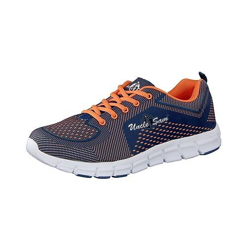 HSM - Zapatillas de running para hombre, color multicolor, talla 44 EU