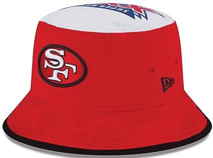 8a73f9ec9d7 Amazon.com   San Francisco 49ers Team Traveler Super Bowl Bucket Hat ...