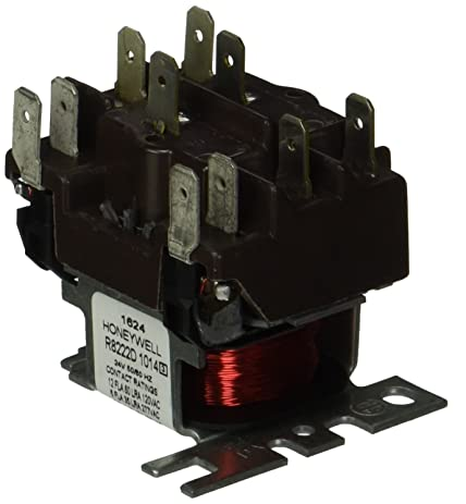 71GeA 1loML._SY463_ amazon com honeywell r8222d1014 24v general purpose relay home honeywell r8222d wiring diagram at nearapp.co