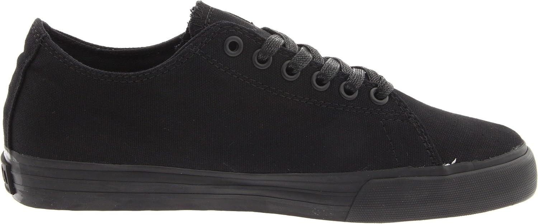 Supra Shoes Thunder Low Black Satin Tuf, Negro (negro), 38
