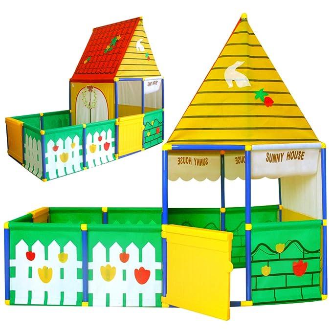 Beneyond Eingez/äuntes Kinderzelt Indoor Geschenke f/ür Kinder Viel Spa/ß in Einem gro/ßen Raum. Outdoor