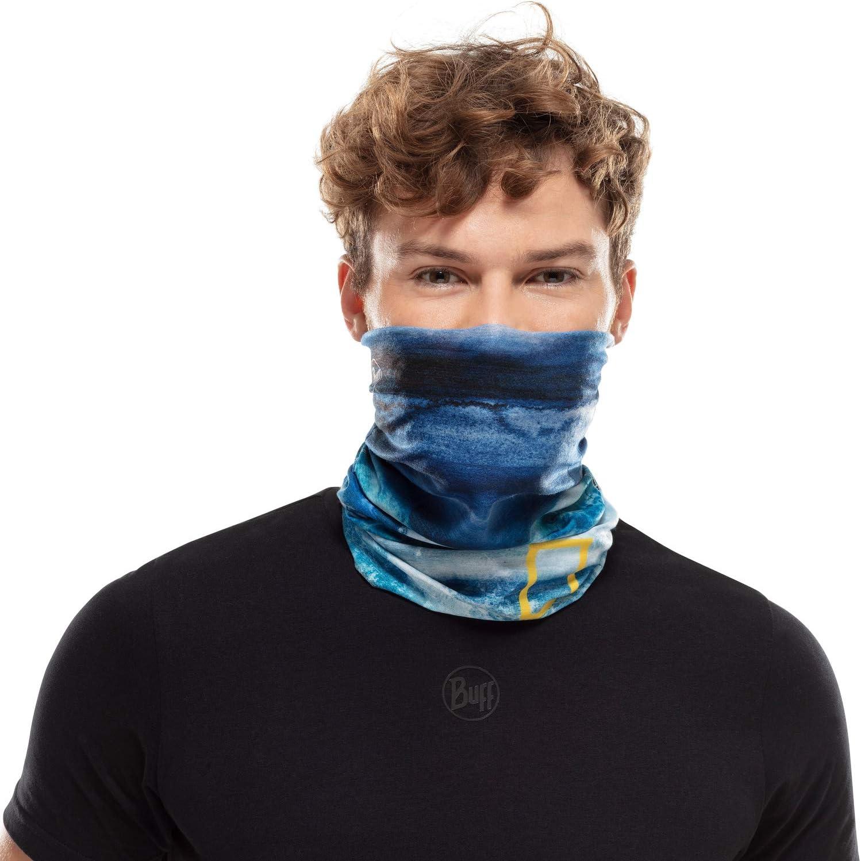 Tubular CoolNet National Geographic Taglia Unica Adulti Unisex Buff Zankor Blu