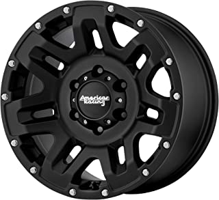 AMERICAN RACING YUKON CAST IRON BLACK YUKON 17x9 5x139.70 CAST IRON BLACK (18 mm)