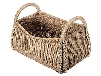 extra large decorative storage basket in seagrass - Decorative Storage Baskets