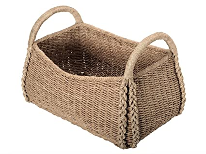 Ordinaire Extra Large Decorative Storage Basket In Seagrass