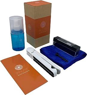 Kit de Limpieza de Tocadiscos de Vinilo by KAIU – 6 en 1 Solución de Limpieza de Vinilos, Limpiador de Aguja Tocadiscos, Fibra de Carbono y Terciopelo & Paño de Microfibra –