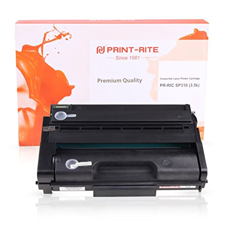 PRINT-RITE Toner Cartridge for Ricoh SP310 Black 3,500 Page per for Ricoh  SP 311DN/DNw/SFN/SFNw SP 325DNw/SNw/SFNw Printer