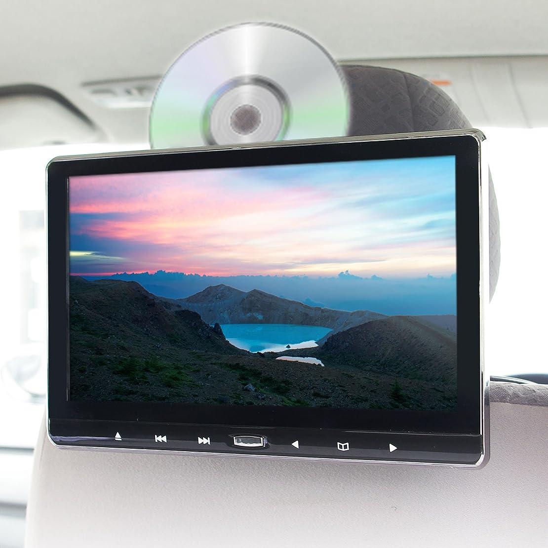 最小センサー胚POMILE カーオーディオ Bluetooth対応 1din カーステレオ ステレオレシーバー FMラジオプレーヤー ハンズフリー通話サポート フロントAUX/USB/SD端子搭載 12V車用 スマホに充電可能 イルミネーション効果 一年保証 日本語マニュアル付き