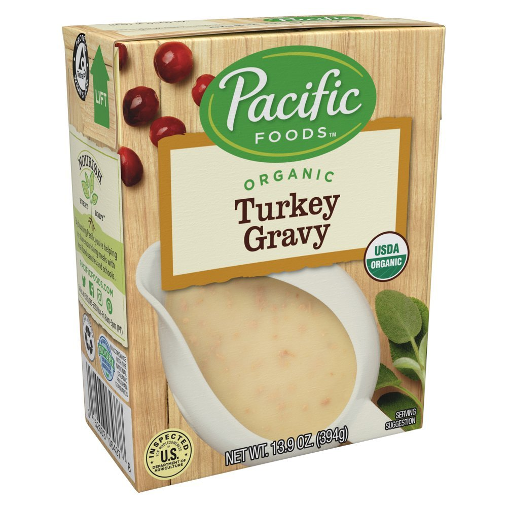 Pacific Foods Organic Gravy, Turkey, 13.9 Ounce (Pack of 12) by Pacific Foods