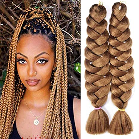 Hair Braids Plecare Kanekalon Braiding Hair Extensions 82inch 165g Long Jumbo Braids Synthetic Braiding Crochet Hair Free Shipping Refreshment Jumbo Braids